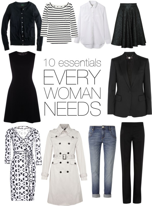 The 10 essential wardrobe pieces