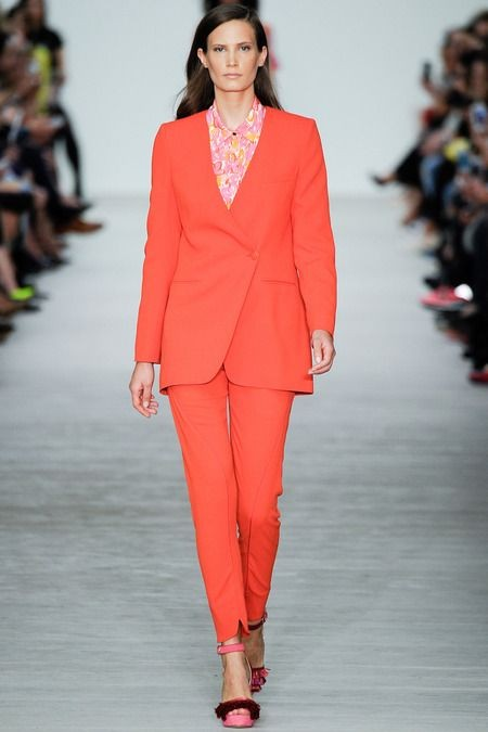 WHAT EVERY WOMAN NEEDS: How to wear orange (Matthew Williamson)